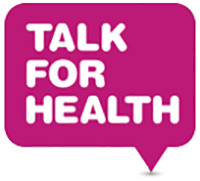 talk for health footer logo
